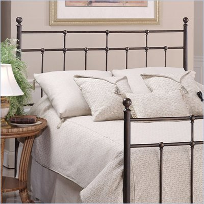 Hillsdale Providence Metal Headboard in Antique Bronze