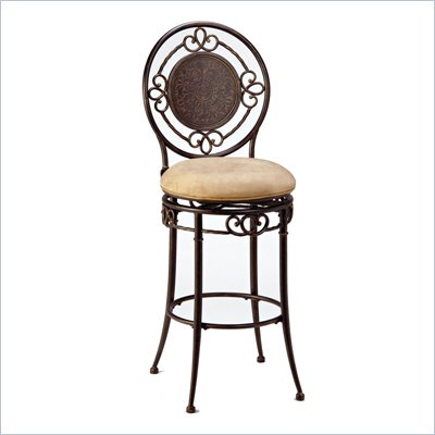 Hillsdale Richland 26 Inch Counter Height Swivel Bar Stool