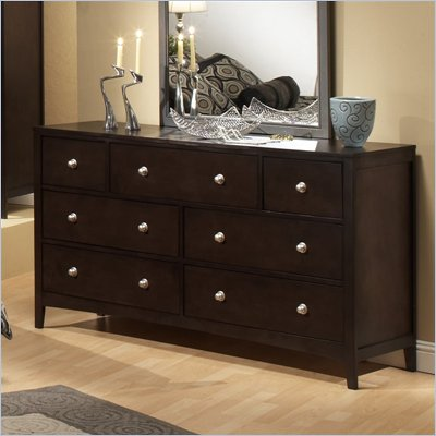 Hillsdale Banyan-Brookland-Tiburon Double Dresser in Espresso