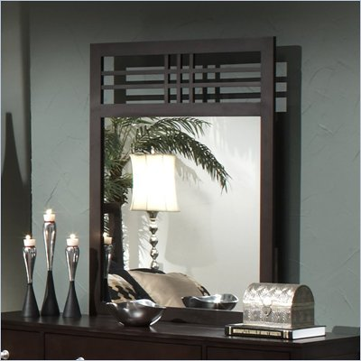 Hillsdale Banyan-Brookland-Tiburon Wood Mirror