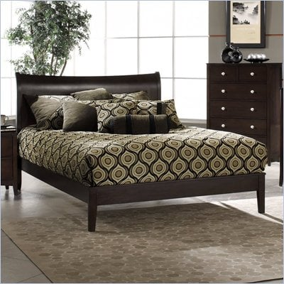 Hillsdale Tiburon Bentwood Platform Bed 6 Piece Bedroom Set