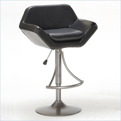 Hillsdale Valencia Adjustable Bar Stool in Oyster Grey