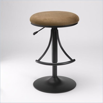 Hillsdale Venus Backless 24 Inch to 30 Inch Swivel Stool in Bear
