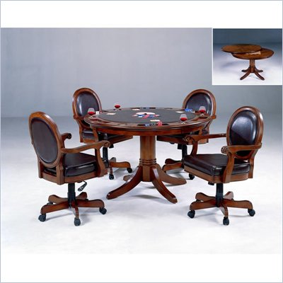 Hillsdale Warrington Game Table in Cherry Finish