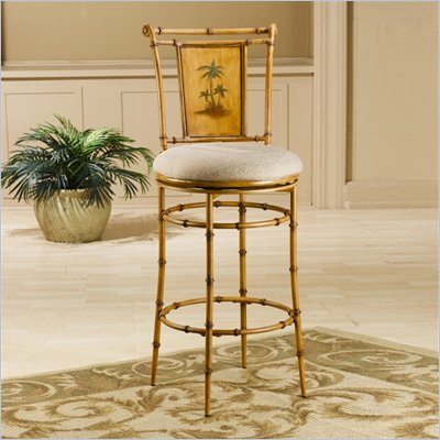 Hillsdale West Palm 26 Inch Swivel Counter Stool