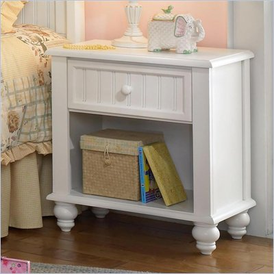Hillsdale Westfield White Nightstand in Off-White Finish