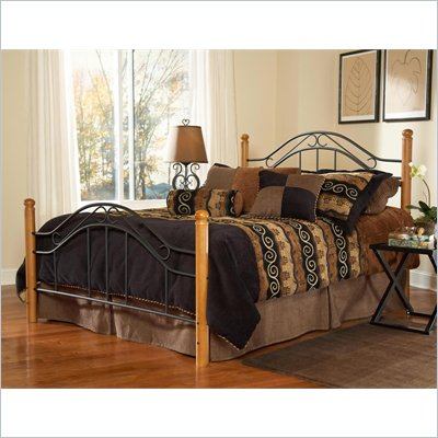 Hillsdale Winsloh Poster Bed (Headboard with Metal Frame)