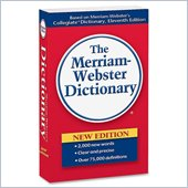 Merriam-Webster Paperback Dictionary 11th Edition
