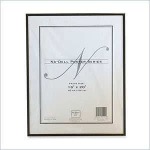 Nu-Dell Metal Poster Frame