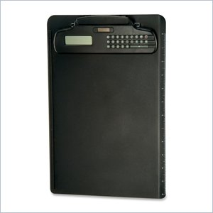 OIC Plastic Clipboard With Calculator