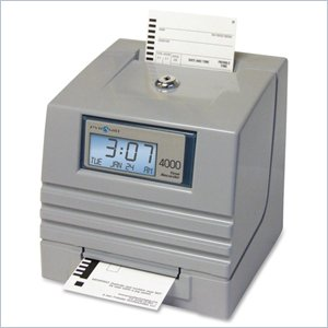 Pyramid 4000 Totaling Payroll Time Recorder