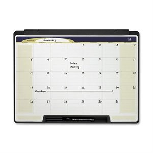 Quartet Cubicle Motion Dry Erase Calendar