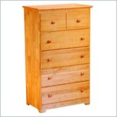 Atlantic Furniture Windsor 48 Inch 5 Drawer Chest