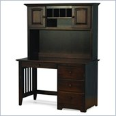 Atlantic Furniture Windsor Wood Computer Desk with Hutch
