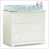 Atlantic Furniture Windsor Wood Changing Table