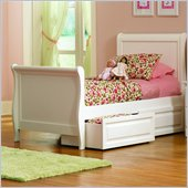 Atlantic Furniture Sleigh Bed 2 Piece Bedroom Set