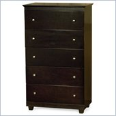 Atlantic Furniture Miami 5 Drawer Chest
