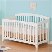Atlantic Furniture Richmond Convertible Crib in a White Finish