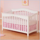 Atlantic Furniture Windsor Convertible Crib in a White Finish