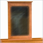 Atlantic Furniture Windsor Portrait Mirror in Light Cherry