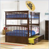 Atlantic Furniture Columbia Full over Full Bunk Bed