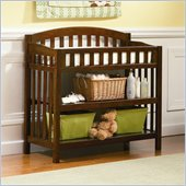 Atlantic Furniture Richmond Changing Table in Antique Walnut