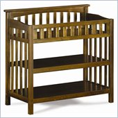 Atlantic Furniture Columbia Changing Table in Antique Walnut