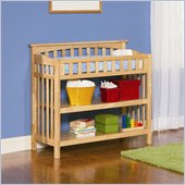 Atlantic Furniture Columbia Changing Table in Natural Maple