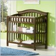 ADD TO YOUR SET: Atlantic Furniture Windsor Changing Table in Antique Walnut