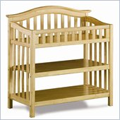 Atlantic Furniture Windsor Changing Table in Natural Maple