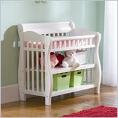 Atlantic Furniture Versailles Changing Table in White