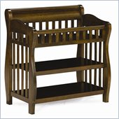 Atlantic Furniture Versailles Changing Table in Antique Walnut