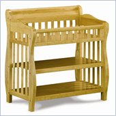 Atlantic Furniture Versailles Changing Table in Natural Maple