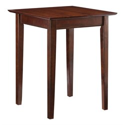 Atlantic Furniture Shaker Printer Stand in Antique Walnut