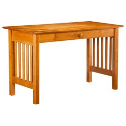 Atlantic Furniture Mission Writing Desk in Caramel Latte