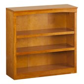 Atlantic Furniture 36 Inch Bookcase in Caramel Latte