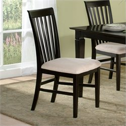 Atlantic Furniture Mission  Dining Chair in Espresso (Set of 2)