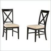 Atlantic Furniture Lexington Side Chair in Espresso (Set of 2)