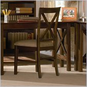 Atlantic Furniture Lexington Side Chair in Antique Walnut (Set of 2)