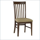 Atlantic Furniture Montreal Side Chair in Antique Walnut (Set of 2)
