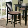 ADD TO YOUR SET: Atlantic Furniture Mission Pub Chair in Espresso (Set of 2)