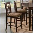ADD TO YOUR SET: Atlantic Furniture Montego Bay Pub Chair in Antique Walnut (Set of 2)