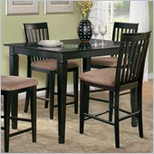 Atlantic Furniture Deco Counter Height Pub Table in Espresso