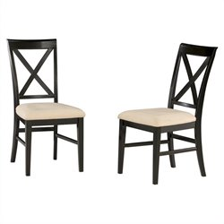 Atlantic Furniture Lexington  Dining Chair in Espresso (Set of 2)