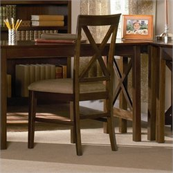 Atlantic Furniture Lexington  Dining Chair in Antique Walnut (Set of 2)