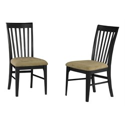Atlantic Furniture Montreal Cappuccino Fabric  Dining Chair (Set of 2)