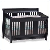 Atlantic Furniture Versailles Convertible Crib in Espresso