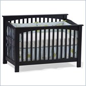 Atlantic Furniture Columbia Convertible Crib in Espresso