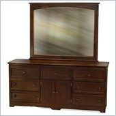 Atlantic Furniture Manhattan 7 Drawer Triple Dresser