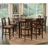 Atlantic Furniture Montego Bay 9 Piece Pub Height Dining Set